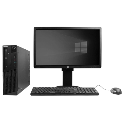 "Системный блок Lenovo ThinkCentre M77 AMD Athlon II X2 B26 4GB RAM 250GB HDD + Монитор 23"""