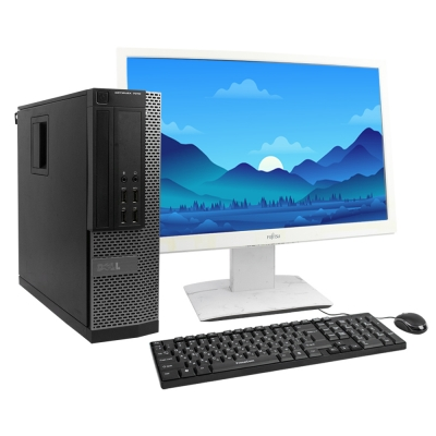 "Dell OptiPlex 7010 SFF Core I5 3470 3.6GHz 4GB DDR3 250HDD + 24"" Монитор"