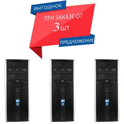 Системный блок HP Compaq 6000 Elite Core 2 Duo 3.0 4GB DDR3 RAM 80GB HDD