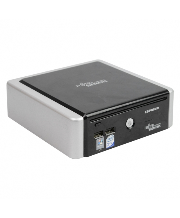 Комплект Fujitsu-Siemens ESPRIMO Q5020 mini Intel® Core™2 Duo T5670 2GB RAM 120GB SSD + Монитор 19 фото_1