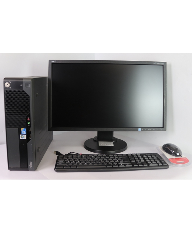 Комплект Fujitsu-Siemens E7936 CORE 2DUO E8500 3.16GHz 4GB DDR3 80GB HDD +  23 Full HD TN
