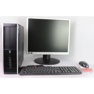"Комплект HP 6000 SFF CORE 2 DUO E8400 3GHz 4GB DDR3 80GB HDD + 19"" Монитор TFT"