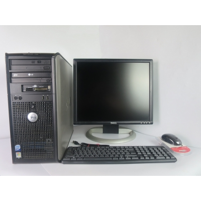 "Dell Optiplex Tower 760 Core™2 Duo E8400 4GB RAM 80GB HDD + 19"" Монитор TFT"
