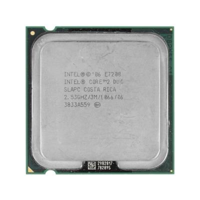 Процессор Intel® Core™2 Duo E7200 (3 МБ кэш-памяти, тактовая частота 2,53 ГГц, частота системной шины 1066 МГц)