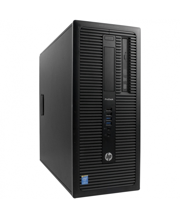 HP Tower 600 G1 Core i3-4160 3.6GHz 8GB RAM 500GB HDD + Новая GTX 1050TI 4GB фото_1