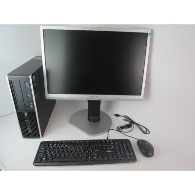 """HP 8000 SFF E8400 3.0GHZ DDR3 4GB RAM 80GB HDD + 22"""" МОНИТОР TFT"""
