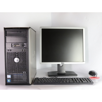 "DELL 780 Core 2 Duo E8400 3.0GHZ 4GB RAM 80GB HDD + 19"" Dell 1913s"