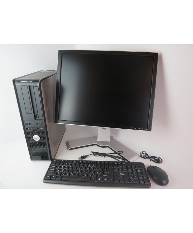 КОМПЬЮТЕР DELL OPTIPLEX 740 AMD X2 DUAL-CORE 2.1GHZ + 20 TFT МОНИТОР
