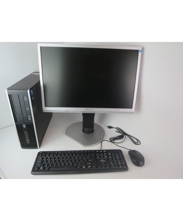 HP 8000 SFF E8400 3.0GHZ DDR3 4GB RAM 80GB HDD + 22 МОНИТОР TFT