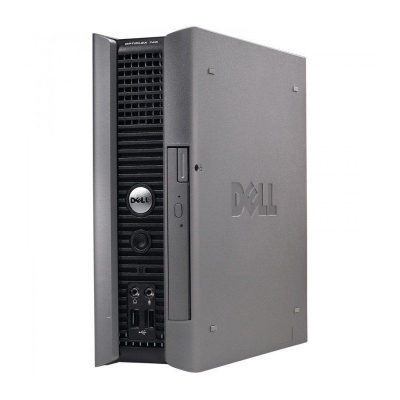 Dell OptiPlex 745 USFF Intel 2 Quad Q6600 2.4GHz 4GB RAM 250GB HDD