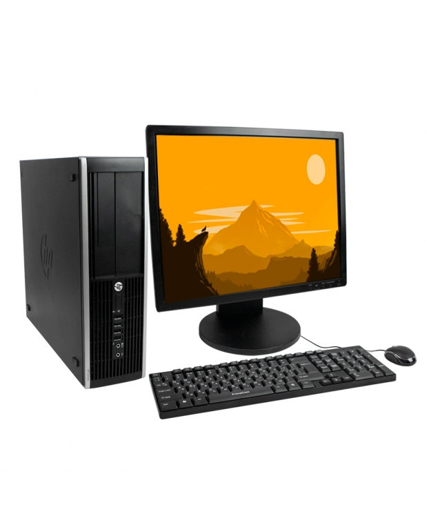 HP 8200 4 ядра Core i5  2320 4GB RAM 250GB HDD + 19 Монитор