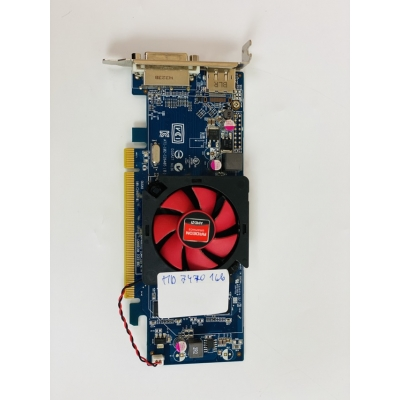 Видеокарта AMD Radeon HD 7470 1gb PCI-Ex DDR3 64bit (DVI + DP)