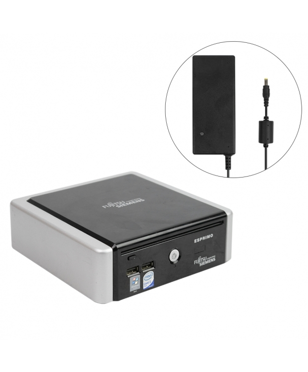 Комплект Fujitsu-Siemens ESPRIMO Q5020 mini Intel® Core™2 Duo T5670 4GB RAM 80GB HDD + Монитор 22 фото_2