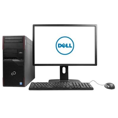 "Системный блок Fujitsu Esprimo P710 Intel® Core™ i3-3220 4GB RAM 500GB HDD + Монитор Dell 24"" IPS"