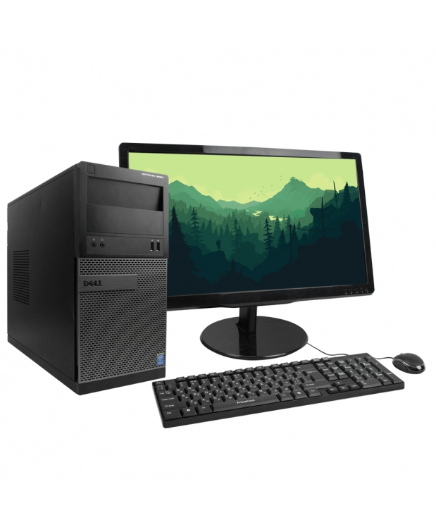 DELL OPTIPLEX 3020 4x ЯДЕРНЫЙ CORE I5 4570 8GB DDR3 500GB HDD + 22  Монитор TFT