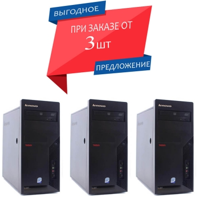 Системный блок LENOVO M58 TOWER CORE 2 DUO E8400 3.00 GHz 4GB RAM 160GB HDD