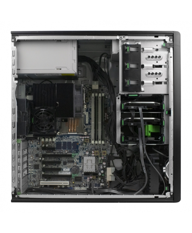 Сервер WORKSTATION HP Z420 6-ти ядерный Xeon E5-1650 3,5 GHZ 16GB RAM 120SSD 2x500GB HDD + QUADRO 2000 фото_3