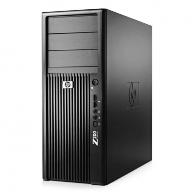 Сервер HP Z200 Workstation 2хCORE i5-650  8GB RAM 250GB HDD