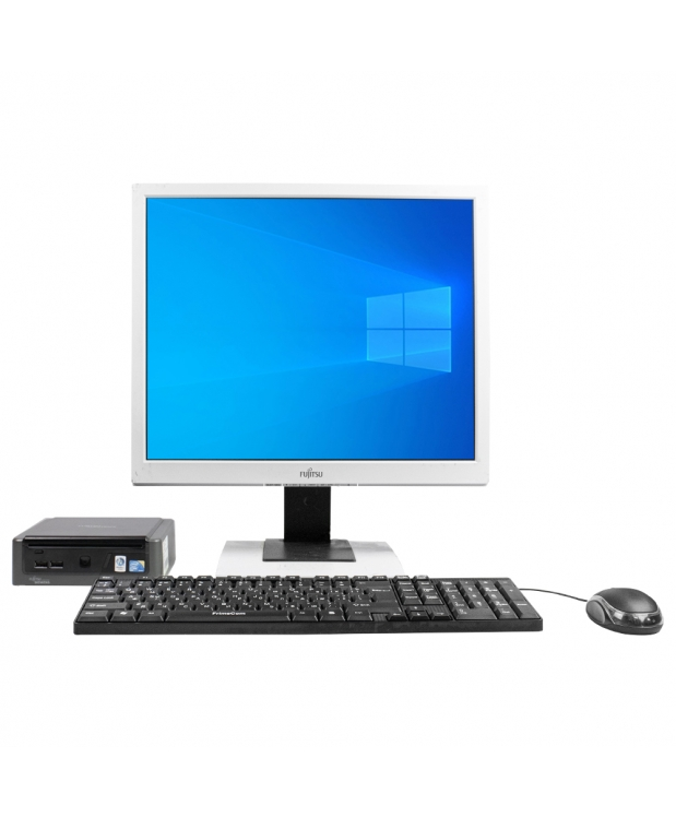 Комплект Fujitsu-Siemens ESPRIMO Q5030 mini Intel® Core™2 Duo T5670 4GB RAM 80GB HDD + Монитор 19