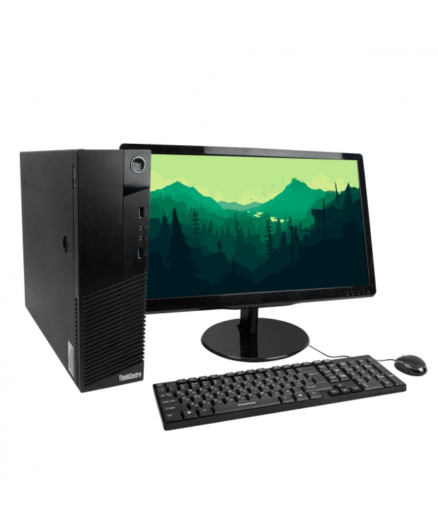 Комплект ThinkCentre M83 SFF 4х ядерный Core i5 4430S 8GB RAM 500GB HDD + 22 Монитор
