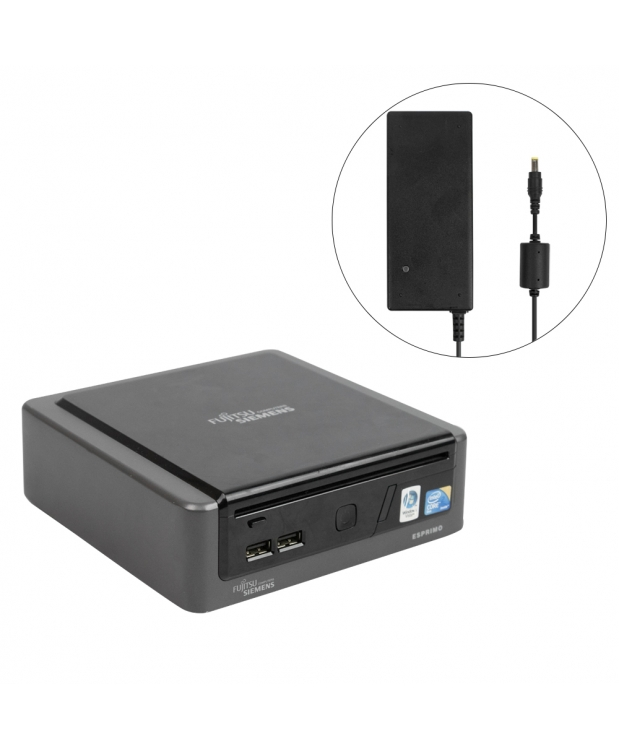 Комплект Fujitsu-Siemens ESPRIMO Q5030 mini Intel® Core™2 Duo T5670 2GB RAM 80GB HDD + Монитор 19 фото_2