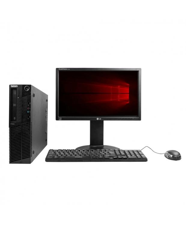 Системный блок Lenovo ThinkCentre M77 AMD Athlon II X2 B26 4GB RAM 250GB HDD + Монитор 18.5
