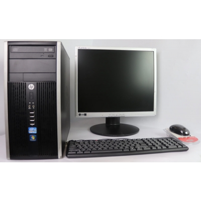 "Комплект  HP COMPAQ ELITE 8300 MT Core I3 3220 4GB RAM 320GB HDD + 19"" TFT Монитор"