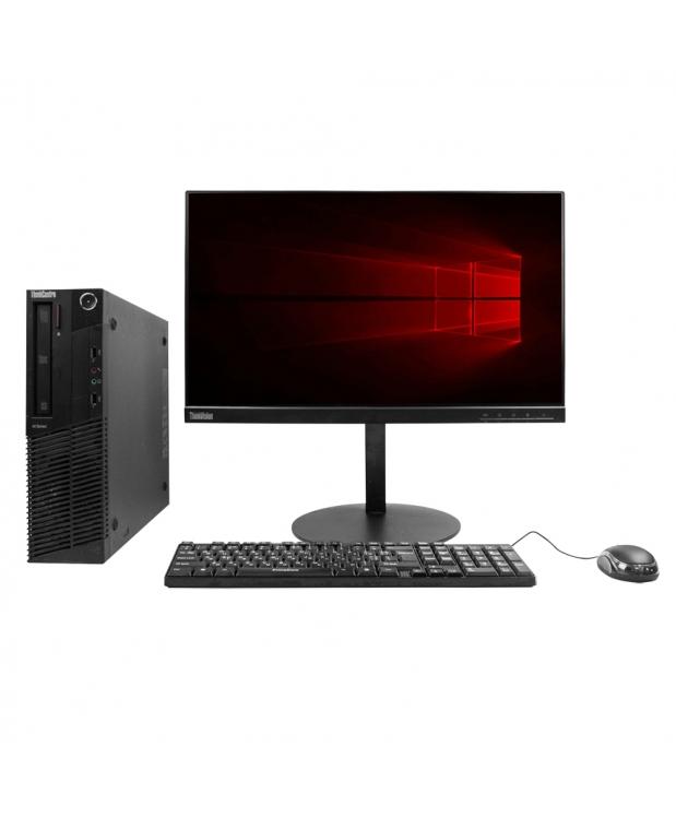 Системный блок Lenovo ThinkCentre M78 AMD A4-5300B 4GB RAM 250GB HDD + Монитор Lenovo ThinkVision T22i-10 21.5