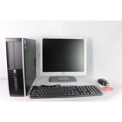 """HP 8000 SFF E8400 3.0GHZ 4RAM DDR3 80 HDD + 17"""" Монитор TFT"""