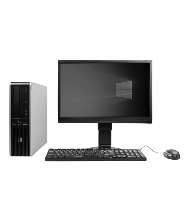 Системный блок HP DC7800 SFF Intel Core 2 Duo E8400 4GB RAM 160GB HDD + Монитор 22