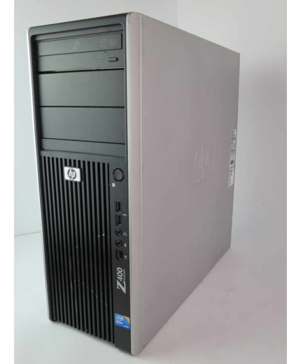 WORKSTATION HP Z400 4xCORE Xeon E5540 2.53 GHZ 8 RAM DDR3 500GB HDD Radeon RX 580 8GB фото_1