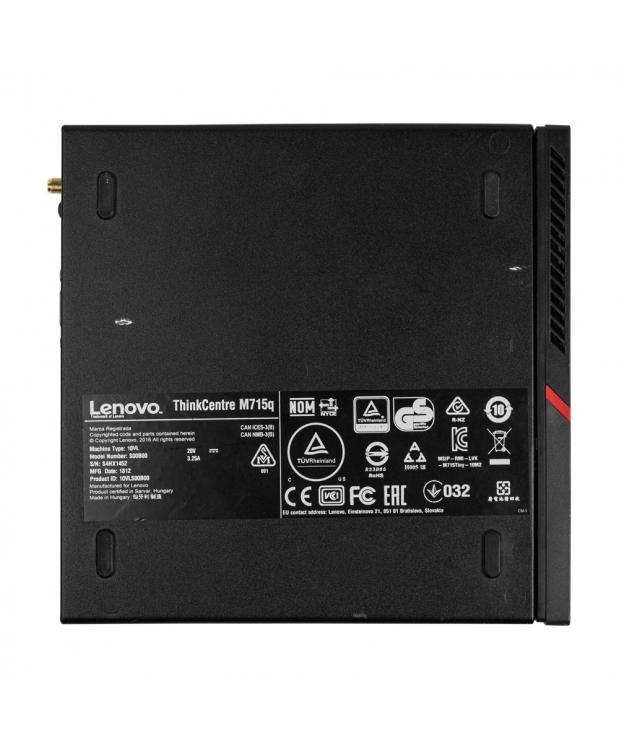 Системный блок Lenovo ThinkCentre M715q AMD A6 8570 8GB RAM 256GB M.2 SSD фото_4