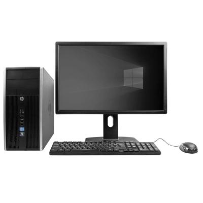 """Комплект HP COMPAQ ELITE 8300 MT Core I3 3220 8GB RAM 120GB SSD + 24"""" Монитор"""