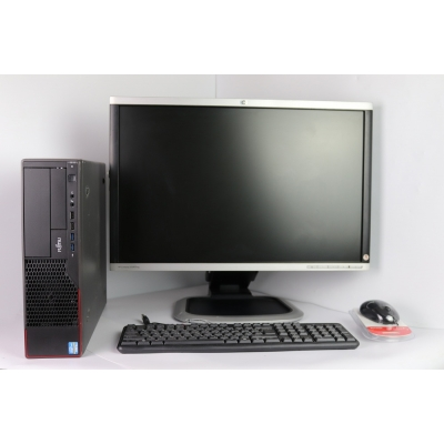 "FUJITSU ESPRIMO E710 4х ядерный Intel Core i5 3350P 4GB RAM 250GB HDD +  24"" Монитор"