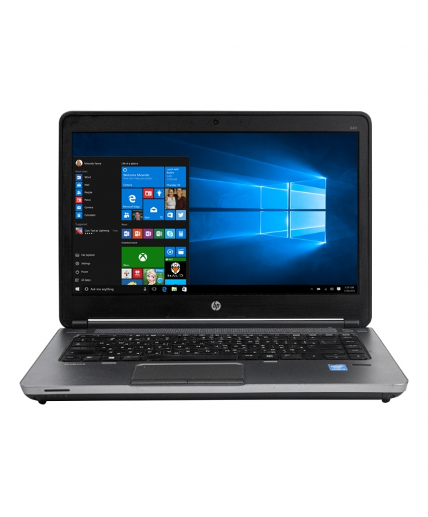 Ноутбук HP ProBook 14 640 G1 Intel Core I5 4210M 16GB RAM 240GB SSD 500GB HDD