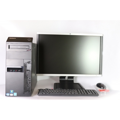 "Lenovo M82 Tower Intel Core i5 3470 4Gb RAM 320Gb HDD + 24"" Монитор TFT"