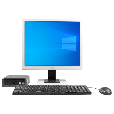 "Комплект Fujitsu-Siemens ESPRIMO Q5030 mini Intel® Core™2 Duo T5670 2GB RAM 80GB HDD + Монитор 19"""