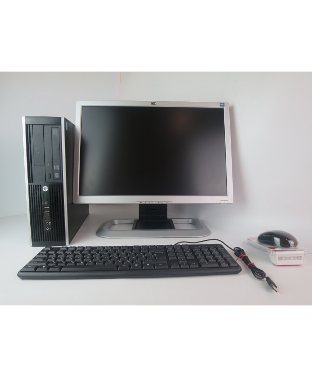 HP Compaq 6300 4х ядерный CORE i5-3470-3.20GHz / 4GB RAM + 20 HP L2045w TN