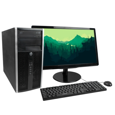 "HP COMPAQ ELITE 8300 MT Core I3 3220 8GB RAM 240GB SSD + 22"" Монитор"
