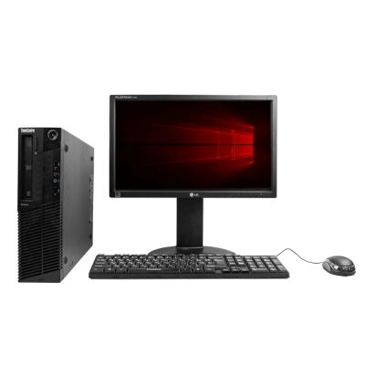 "Системный блок Lenovo ThinkCentre M77 AMD Athlon II X2 B26 4GB RAM 250GB HDD + Монитор 18.5"""