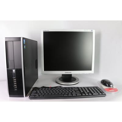 """HP8000 SFF E8400 3.0GHZ 8RAM DDR3 80 HDD + 19"""" Монитор TFT"""