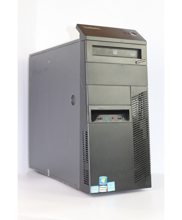Lenovo M82 Tower Intel Core i5 3350P 16Gb RAM 500GB HDD 128GB SSD + новая GTX1050Ti 4GB фото_2