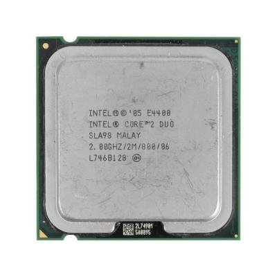 Процессор Intel® Core™2 Duo E4400 (2 МБ кэш-памяти, тактовая частота 2,00 ГГц, частота системной шины 800 МГц)