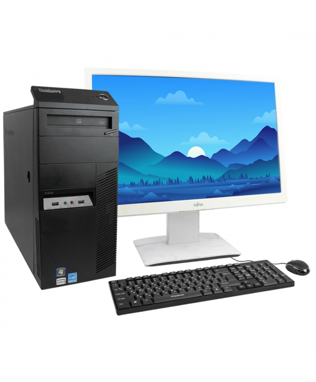 Lenovo M82 Tower Intel Core i5 3350P 4Gb RAM 320Gb HDD + 24 Монитор