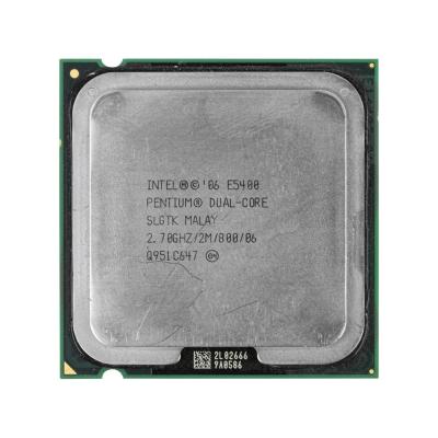 Процессор Intel® Pentium® E5400 (2 МБ кэш-памяти, тактовая частота 2,70 ГГц, частота системной шины 800 МГц)