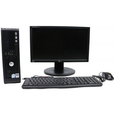 "Системный блок Dell OptiPlex 755 Core 2Duo E8400 4GB RAM 80GB HDD + 19"" Широкоформатный TFT"