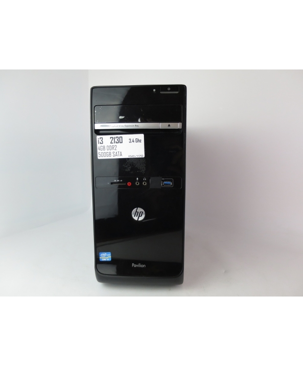 Системный блок HP PAVILION P6 CORE I3 2130 3.4GHz 4GB  HDD 500GB фото_1