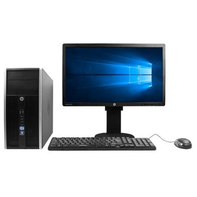 """Комплект HP COMPAQ ELITE 8300 MT Core I3 3220 4GB RAM 320GB HDD + 23"""" Монитор"""