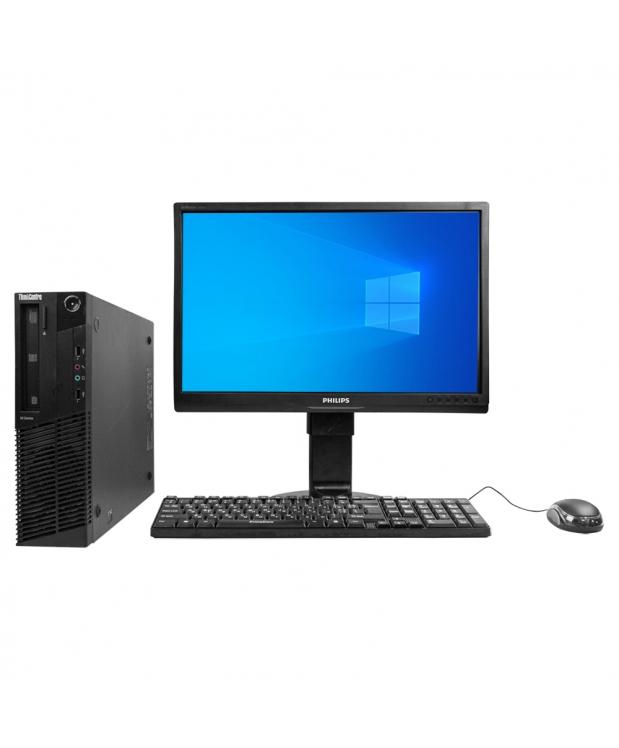 Системный блок Lenovo ThinkCentre M77 AMD Athlon II X2 B26 4GB RAM 250GB HDD + Монитор 22