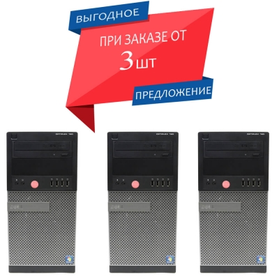 Системный блок DELL OPTIPLEX 790 TOWER CORE i5-2400 4GB RAM 250GB HDD